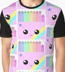 kawaii box of colors Graphic T-Shirt