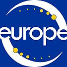 """""""My country? Europe."""" LOGO (white version) by mycountryeurope"""
