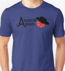 5c55e860a the anaheim amigos Unisex T-Shirt