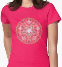 mandala 3 Womens Fitted T-Shirt