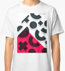 Minimal Abstract Art Pattern Geometric Classic T-Shirt