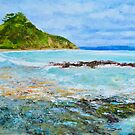 Tapeka Beach, Russell, Bay of Islands, Northland, New Zealand by Dai Wynn