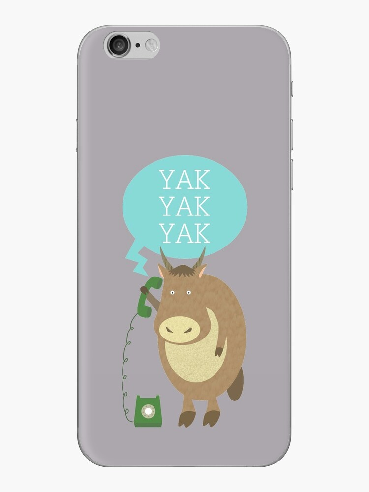 Yak on the Phone by HeliconHill