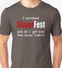 I Survived SlayerFest '98 T-Shirt