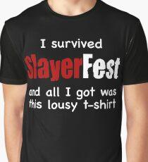 I Survived SlayerFest '98 Graphic T-Shirt