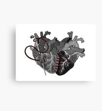Two Hearts, Bound By Love Canvas Print