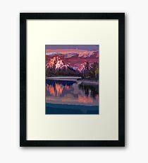 Grand Teton Park - Wyoming Framed Print