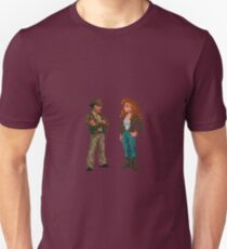 Indiana Jones and The Fate of Atlantis #01 Unisex T-Shirt