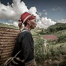Red Dao Lady in SaPa by Michiel de Lange