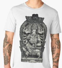 Ganesha the Remover of Obstacles Men's Premium T-Shirt