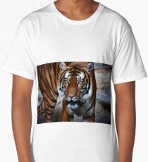 siberian tiger, tiger head Long T-Shirt