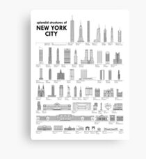 Splendid Structures of NYC Canvas Print