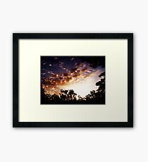 incendiary Framed Print