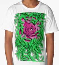 The Eye Deep within the rose Long T-Shirt