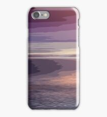 Abstract Sunset iPhone Case/Skin