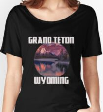 Grand Teton Park - Wyoming Women's Relaxed Fit T-Shirt