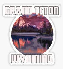 Grand Teton Park - Wyoming Sticker