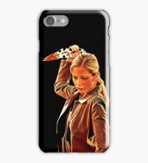 'Buffy in Black' by JACKASH iPhone Case/Skin