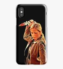 'Buffy in Black' by JACKASH iPhone Case