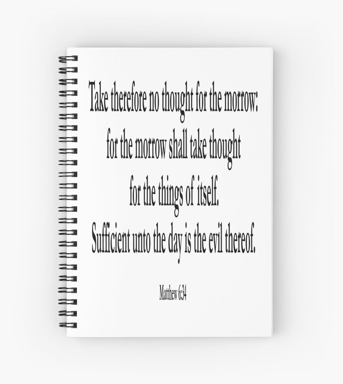 Bibel Bibel Matthäus 6 34 Jesus Ausreichend Bis Zum Heutigen Tag