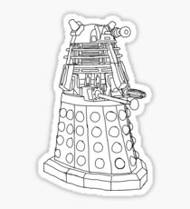 Supreme Dalek Sticker