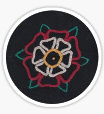 Tudor Rose 2 Sticker