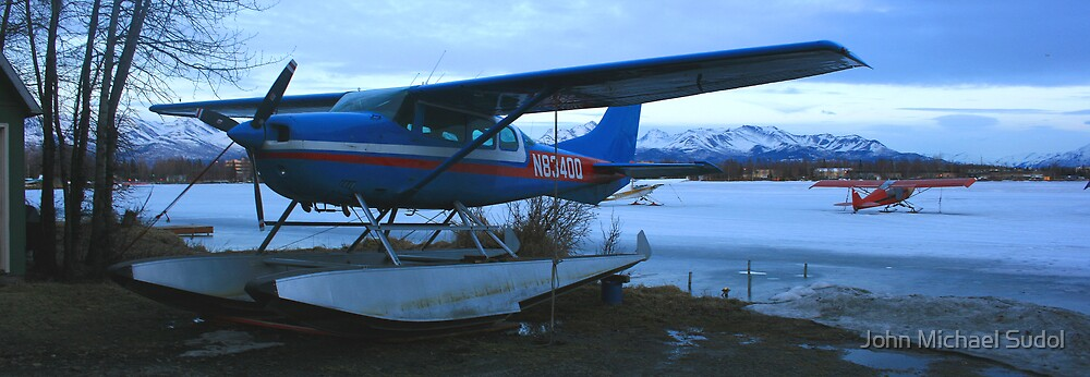 Alaska Airplanes 3 by John Michael Sudol