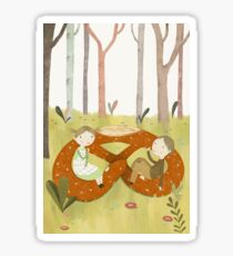 Hansel and Gretel Sticker