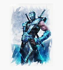 League of Legends FROZEN SHEN Photographic Print