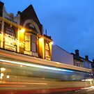Pub And Bus by Rob McFall