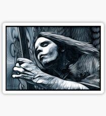 """Bob Weir """"Destination Unknown"""" Grateful Dead psychedelic image Sticker"""