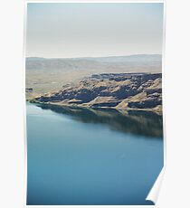 Columbia river in Washington Poster