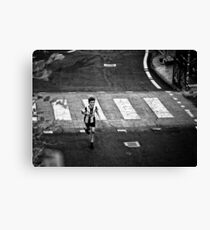 Young Runner Canvas Print