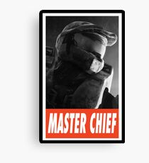 -GEEK- Master Chief Canvas Print