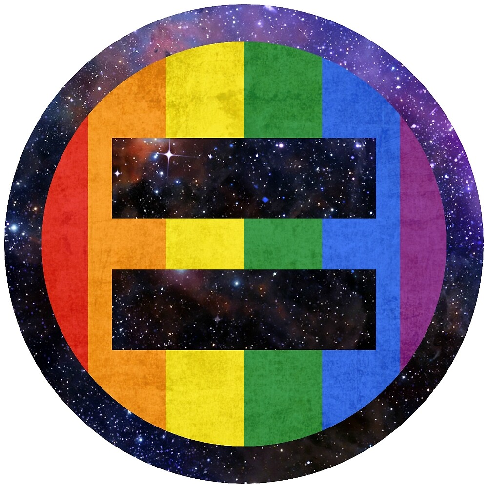 Equality Pride Universe by Robby Thompson