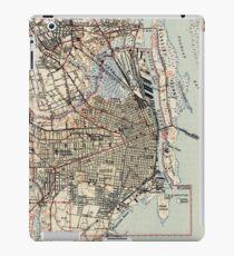 Vintage Map of Mobile Alabama (1940) iPad Case/Skin