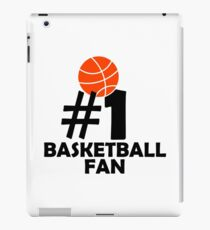 #1 Basketball Fan iPad Case/Skin