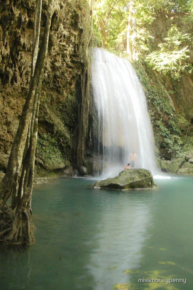 Erewan Falls - Thailand by missmoneypenny