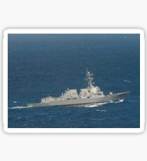 The guided-missile destroyer USS Michael Murphy. Sticker