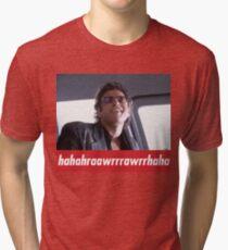 Camiseta de tejido mixto Jeff Goldblum ríe