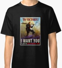 To Victory / Angel of Verdun : Inspired by Edge of Tomorrow Classic T-Shirt