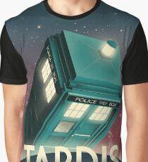 Now Boarding: TARDIS Graphic T-Shirt