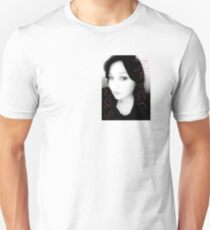 Never Was photo shoot art high end boutique fame lost and found lust black and white life screen goddess  T-Shirt