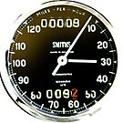 British Motorcycle speedometer by JohnLowerson