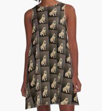 Potty Pug A-Line Dress