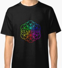 Starfish Coldplay AHFOD Flower of Life Classic T-Shirt