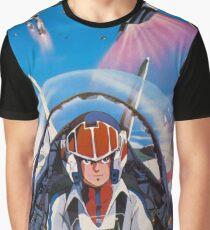 Robotech 1985 Rick Hunter Graphic T-Shirt