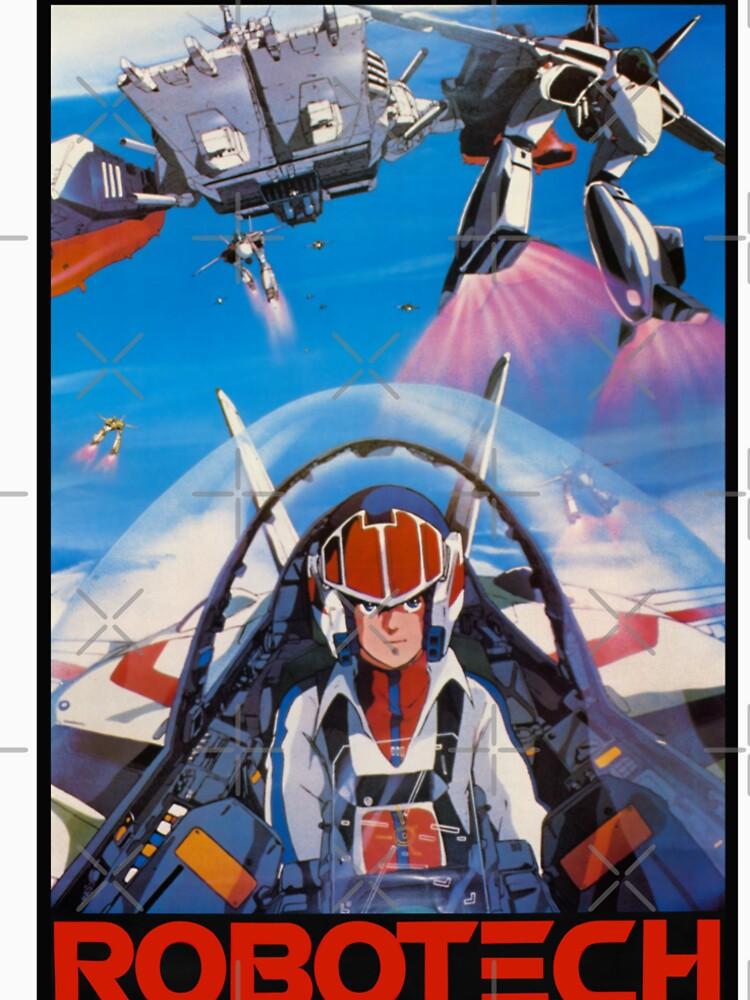 Robotech 1985 Rick Hunter von 7hunters