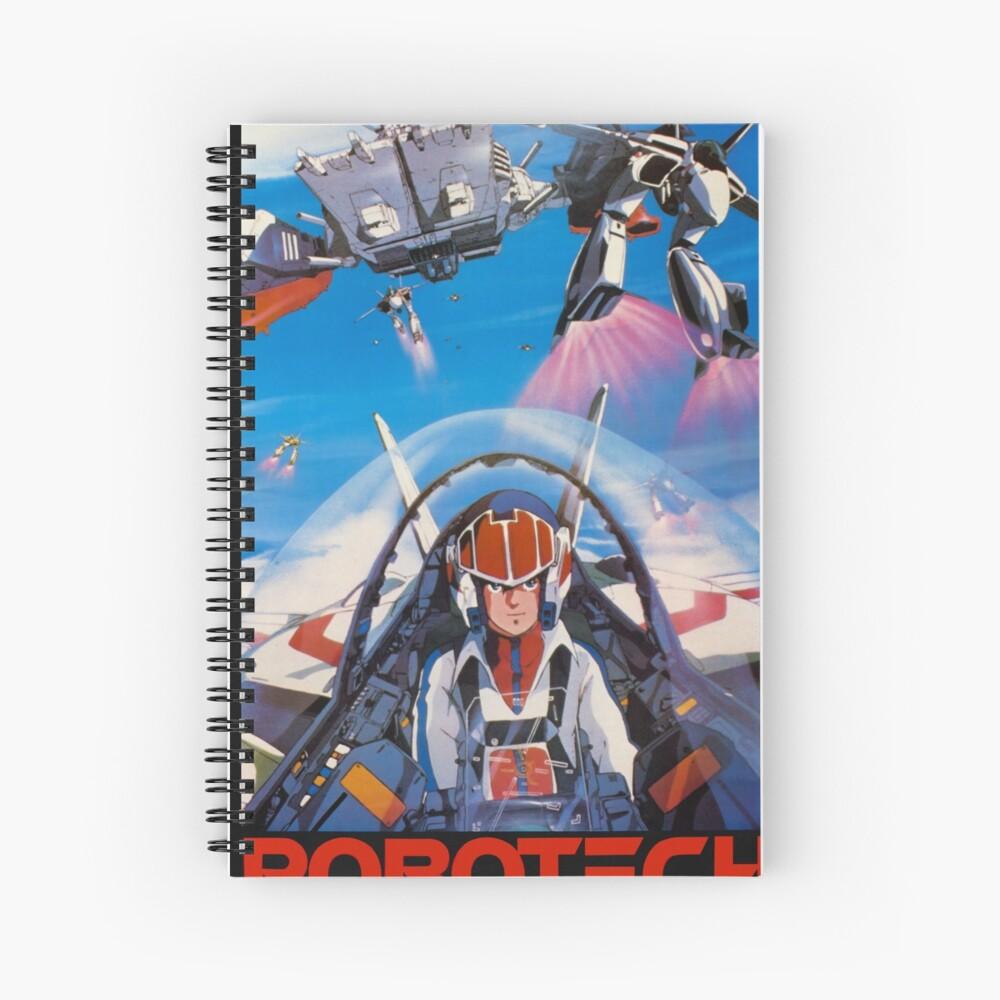 Robotech 1985 Rick Hunter Spiralblock