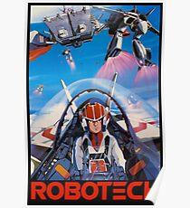 Robotech 1985 Rick Hunter Poster